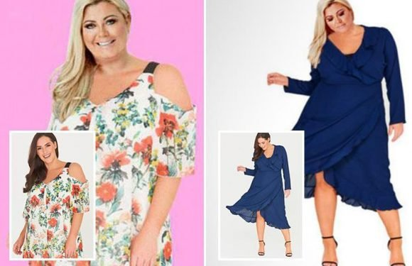 Towie's Gemma Collins accused of photoshopping her head on to a model's body
