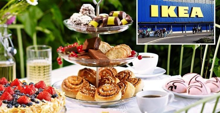 You can now get afternoon tea at IKEA… and it's only £5