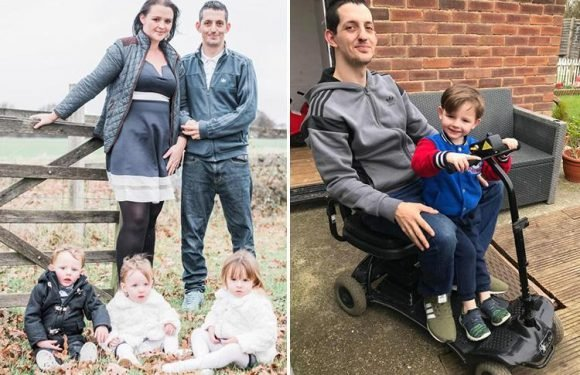 Mum's fury after NHS forces her to endure agonising 15 year wait to learn if her 3 kids have devastating condition that is killing their dad