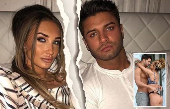 Megan McKenna and 'Muggy' Mike Thalassitis SPLIT after two month whirlwind romance and delete loved-up holiday snaps from Instagram