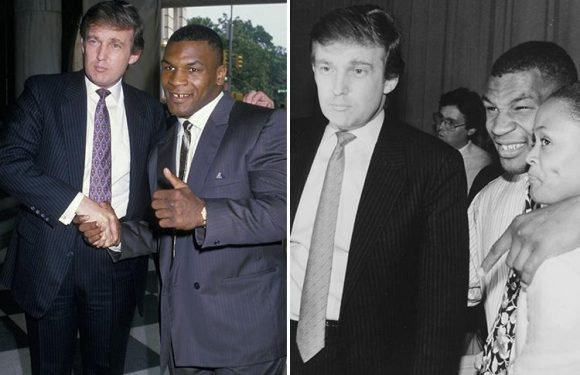 Inside the bizarre 'father-son' relationship between Trump and Mike Tyson… and how 'Iron Mike' 'tried to kill himself over' rumours The Donald was sleeping with his wife