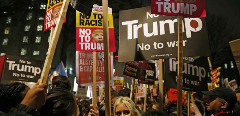 Trump confirms Friday 13th UK visit, to protesters' horror