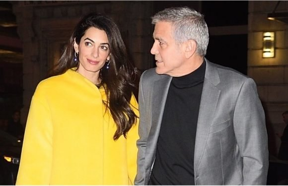 Amal Clooney's Date-Night Shoes Double as Pants — Yes, They Go That High