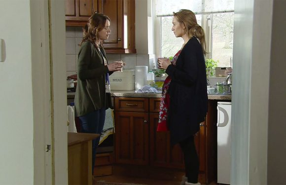 Coronation Street baby plot continues tonight as Toyah gives Eva some bad news