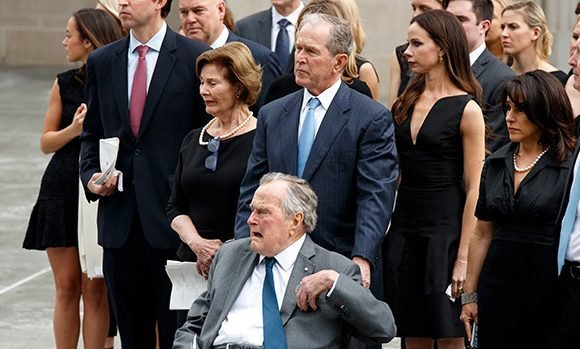 George H.W. Bush Hospitalized & In ICU Day After Barbara's Funeral: In Critical Condition For Sepsis