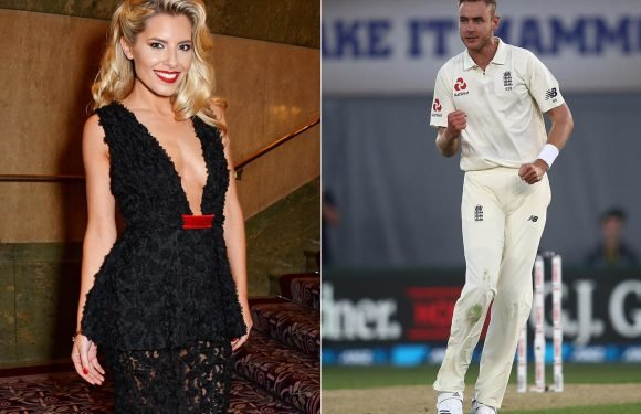 Mollie King says she 'loves being in love' after striking up a romance with Stuart Broad