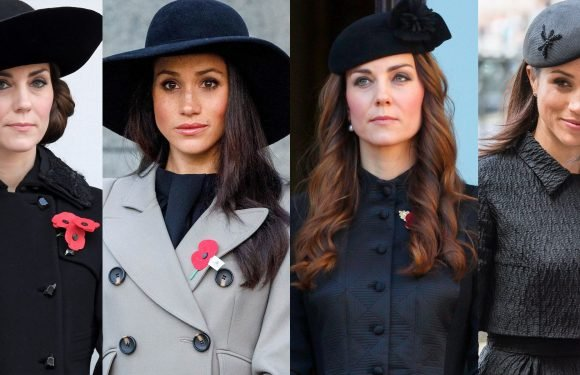 Meghan Markle Channeled Kate Middleton's Stylish Hats Twice in One Day