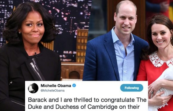 Michelle Obama's Response to the Royal Baby Is So Sweet and Now We're Crying