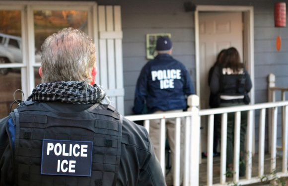 ICE arrests 97 suspected illegal immigrants at work in huge raid