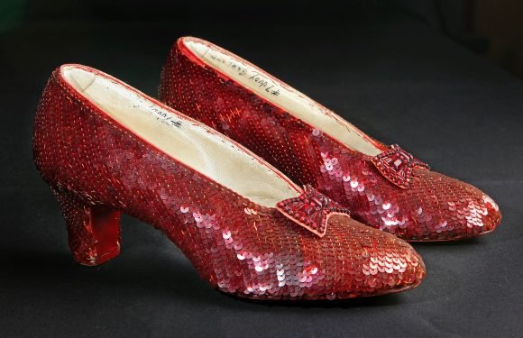 Dorothy's ruby-red shoes to hit auction block