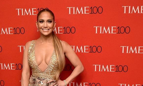 Jennifer Lopez Flashes Major Leg At Time 100 Gala With A-Rod Proving She'll Always Be Hot