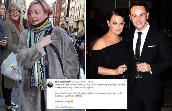 Ant McPartlin's estranged wife Lisa Armstrong likes tweet about 'welcoming change' as ex leaves rehab looking fresh-faced