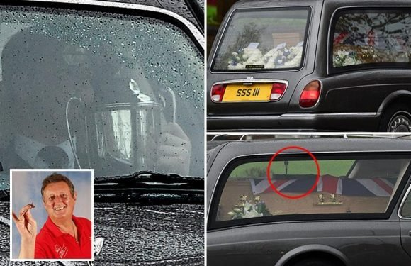 Eric Bristow's funeral sees family and friends say goodbye with dartboard tribute on coffin and World Championship trophy on display