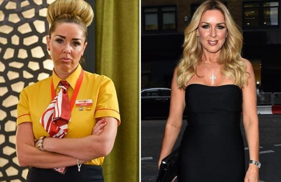 Benidorm bosses reveal first look at Claire Sweeney as sullen airport worker