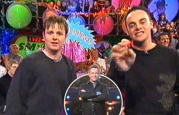 Ant and Dec will play Wonky Donkey on Britain's Got Talent 15 years after SMTV: Live