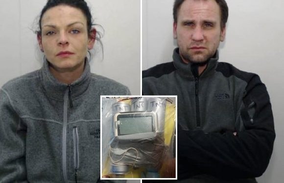 Bank robber and lover jailed after he pretended to be ISIS suicide bomber with fake device strapped to chest