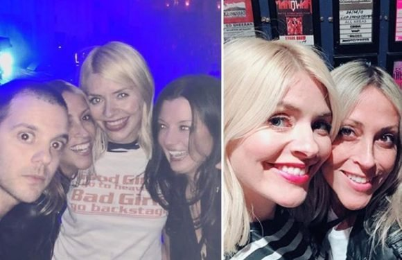 Holly Willoughby defended by furious fans after cruel trolls slam her rare night out at The Streets gig