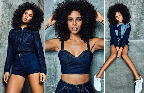 The Saturdays star Rochelle Humes reveals she's furious with herself for straightening her hair — and how she learned to love her natural beauty