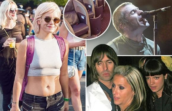 Lily Allen poised to expose details of boozy mid-air romp with married rocker Liam Gallagher