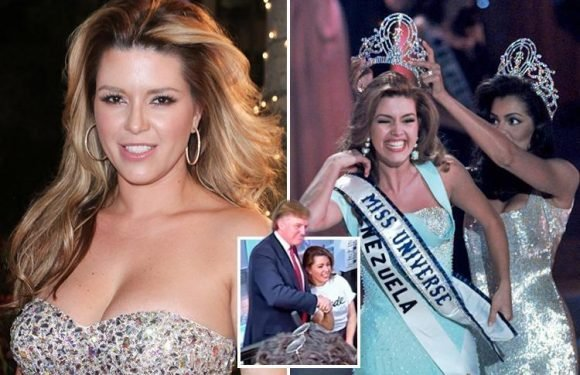 Former Miss Universe Alicia Machado claims Donald Trump tried to have sex with her