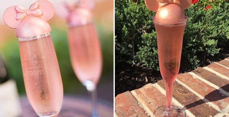 You can now buy a pink Minnie Mouse champagne cocktail… and Disney fans are going wild