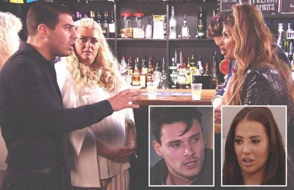 Towie's Jon Clark and Chloe Sims in epic showdown, as Courtney Green confronts Myles Barnett over cheating, and James Lock and Yazmin Oukhellou's relationship suffers another blow