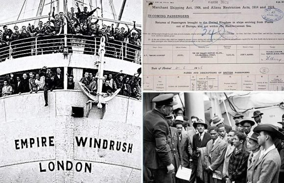 Thousands of Windrush generation records proving they're living in Britain legally are FOUND despite fears Home Office had shredded them