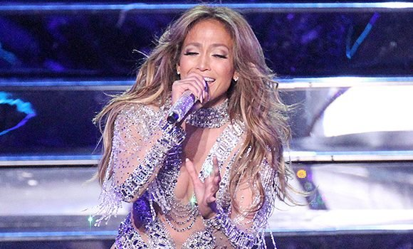 Jennifer Lopez Slays In Glittery Dress As She Premieres 'El Anillo' At The Billboard Latin Music Awards