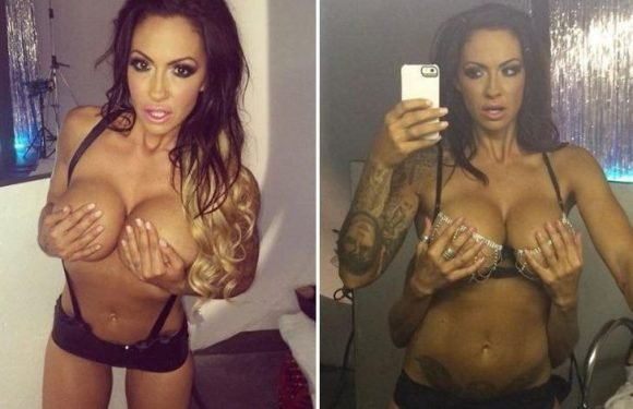 Jodie Marsh poses topless on Instagram in sexy throwback to her lads mags days