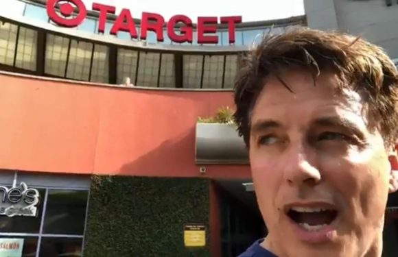 John Barrowman furiously claims shop staff refused to let him buy clothes for homeless man