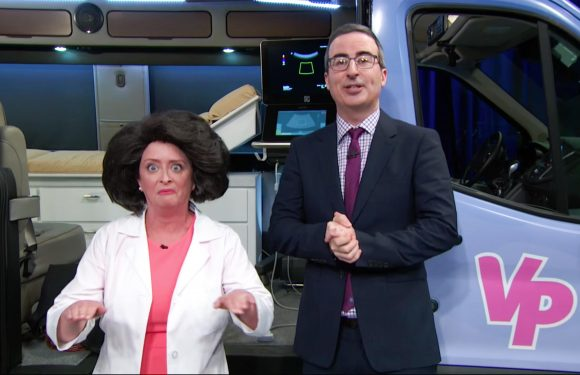 Last Week Tonight: John Oliver opened a crisis pregnancy center just to prove a point