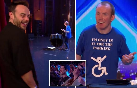 Britain's Got Talent spoiler: Ant McPartlin laughs his head off as disabled comedian who is unable to speak leaves the audience in stitches without uttering a single word