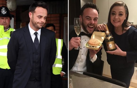 Lisa Armstrong 'breaks her social media silence' on Ant McPartlin's guilty plea in court as she likes supportive messages from fans on Twitter