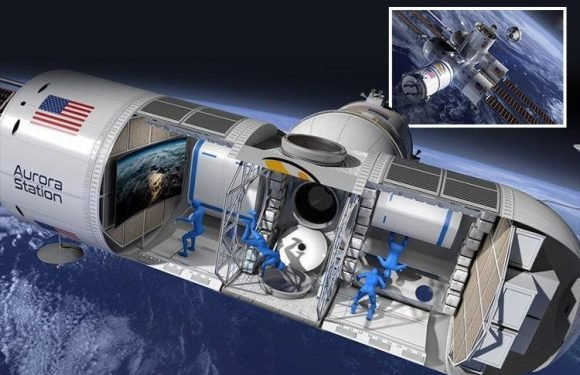 First look inside £600k-a-night space hotel with zero gravity that plans to open in just three years