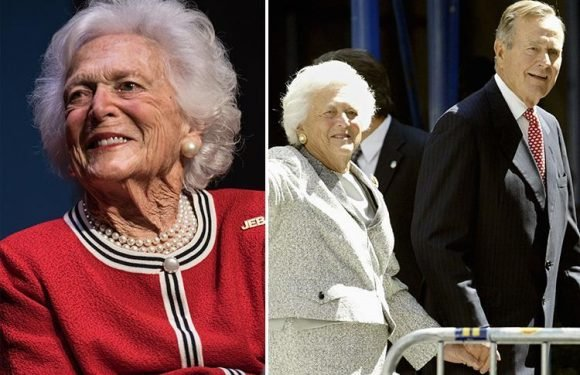 Barbara Bush is in failing health as former First Lady and wife of George H.W. Bush decides to reject any more medical treatment