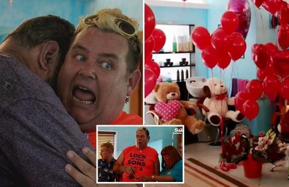 Benidorm's Kenneth dumps Vlad by pretending he's STRAIGHT and married to Sam – but his ex STILL refuses to back off