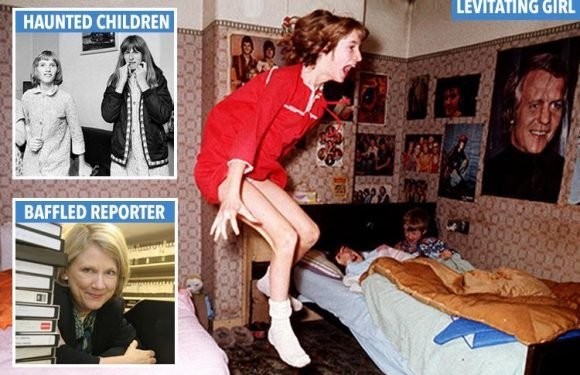 I never believed in the Enfield Poltergeist… until I heard strange scraping on the floorboards and recorded the 'ghost's' demonic voice
