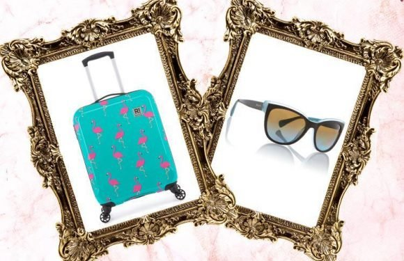 From cat eye sunglasses to an eye-catching flamingo suitcase… here's what we're lusting after today