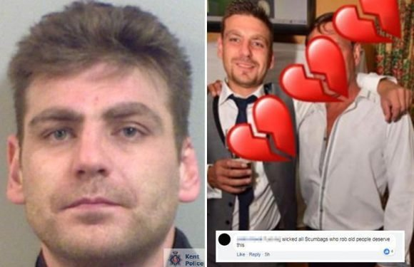 Family of burglar 'knifed to death by OAP Richard Osborn-Brooks' trolled online as they pay tribute