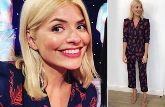 Holly Willoughby leaves fans gobsmacked as she wears outfit worth £1,500 for Celebrity Juice