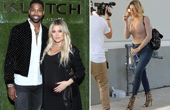 Khloe Kardashian begs mum Kris Jenner to 'turn off Keeping Up With The Kardashian cameras' as she prepares to give birth amid claims Tristan Thompson cheated on her 'repeatedly'