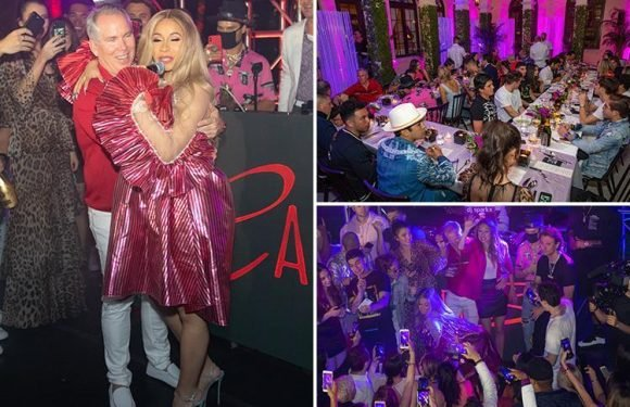 Super rich lawyer Thomas J Henry throws lavish £3.2MILLION party attended by Cardi B and DJ Khaled