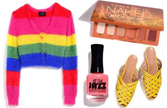 Sunshine sandals, rainbow cardigans and Caribbean nails are giving us all the summer feels