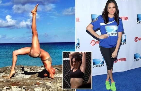 Meghan Markle's former trainer says she likes circuit training, pull-ups and using mini bands — here's what her workouts look like