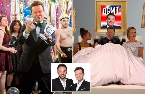 Ant and Dec scrapped from Stephen Mulhern's annual song in hilarious Britain's Got More Talent clip with all four judges