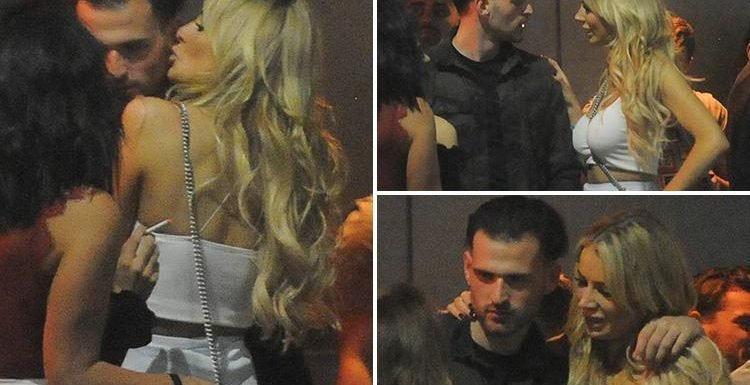 Olivia Attwood spotted cosying up to boyfriend Bradley Dack's mate Ronnie on a night out without her new beau