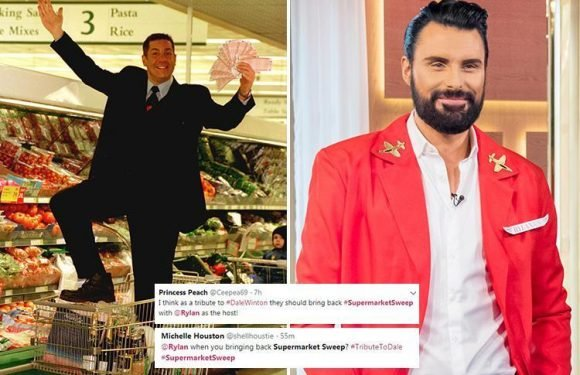 Dale Winton's beloved gameshow Supermarket Sweep still to return – with a new host as fans tip Rylan Clark-Neal for the job