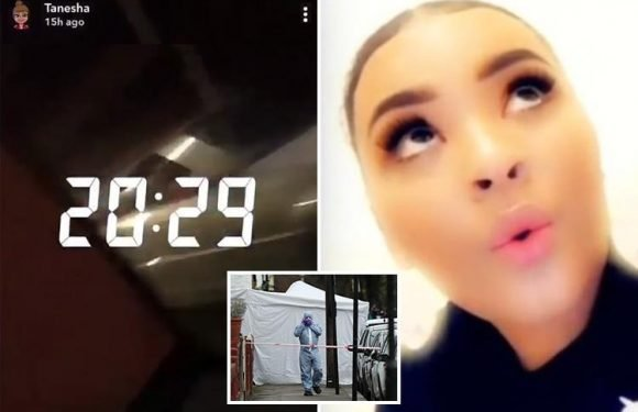 London shooting victim Tanesha posted haunting Snapchat video just an hour before she was killed