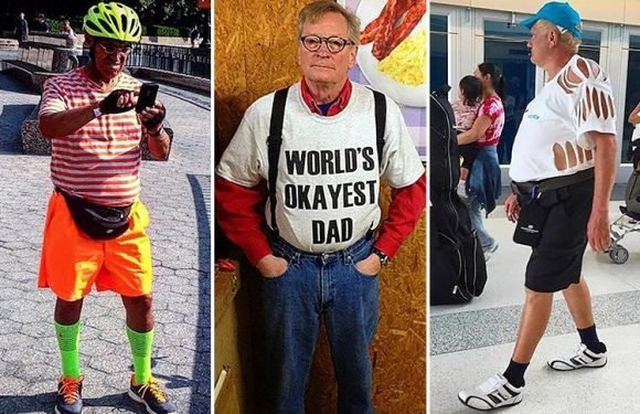 Thought your dad was embarrassing? These fathers' fashion choices will leave you in stitches
