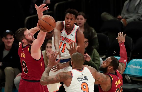 Knicks' season of change was just more of the same